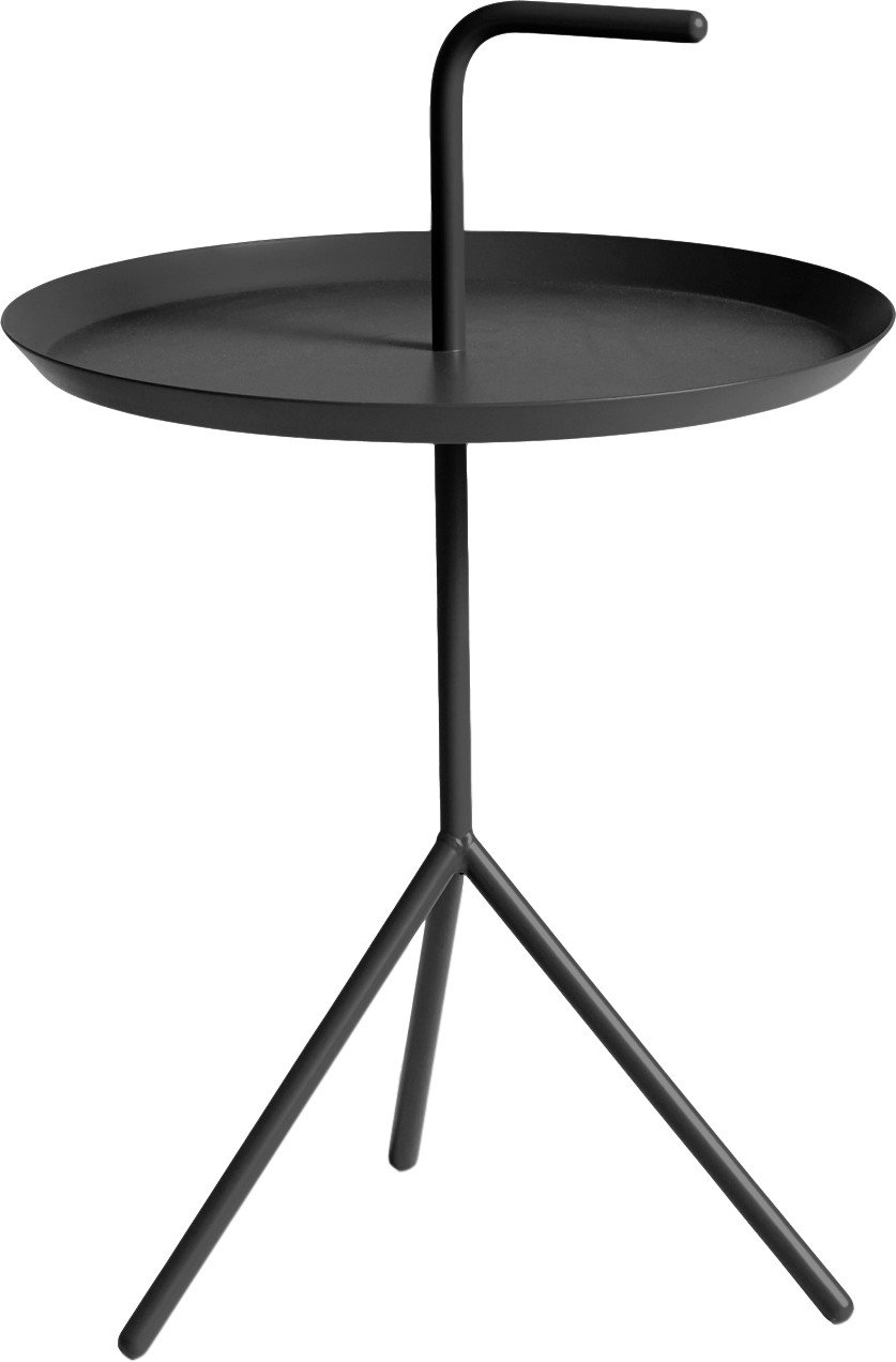 DLM Side Table Black by T. Bentzen for HAY