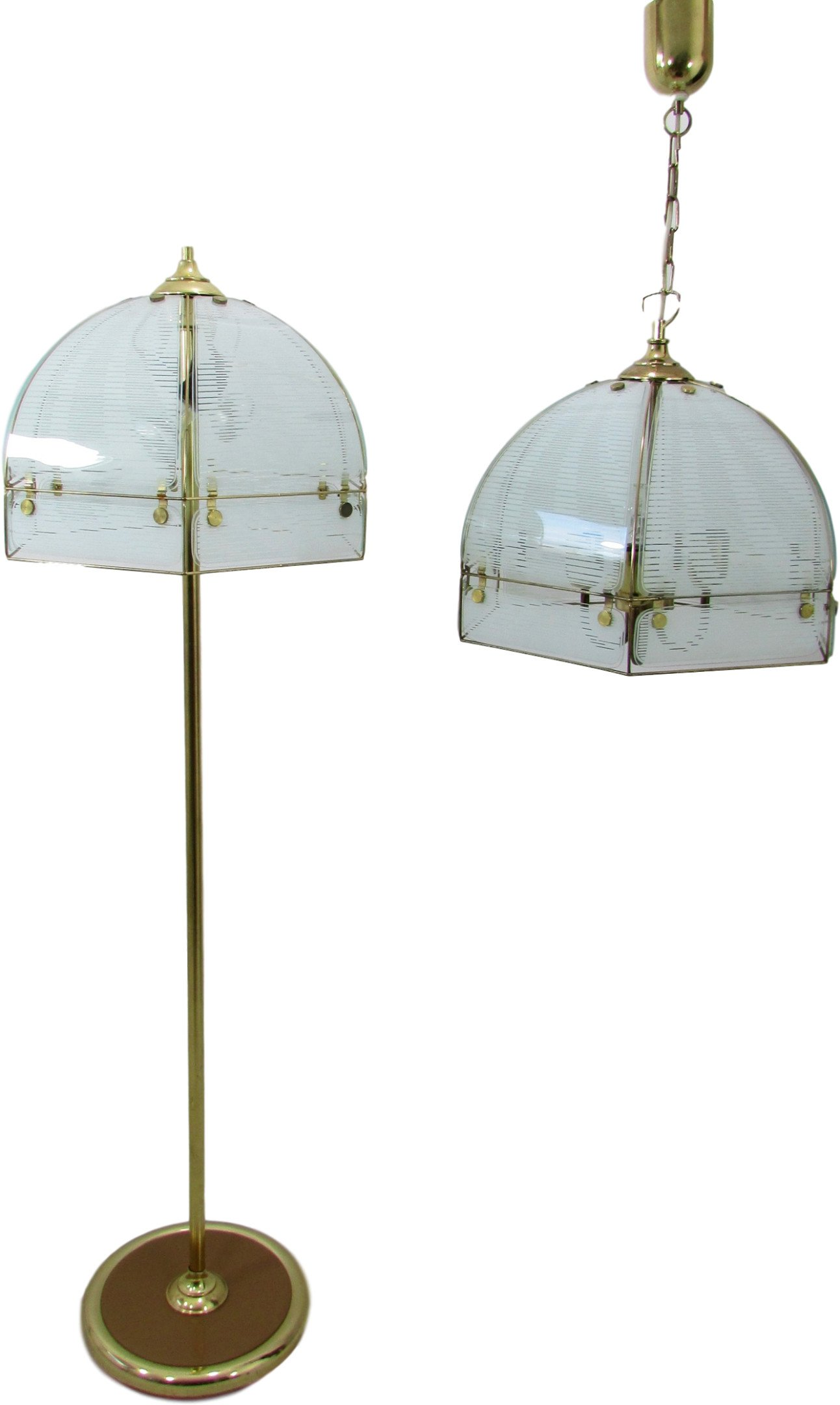 Pair of Lamps, Germany, 1970s