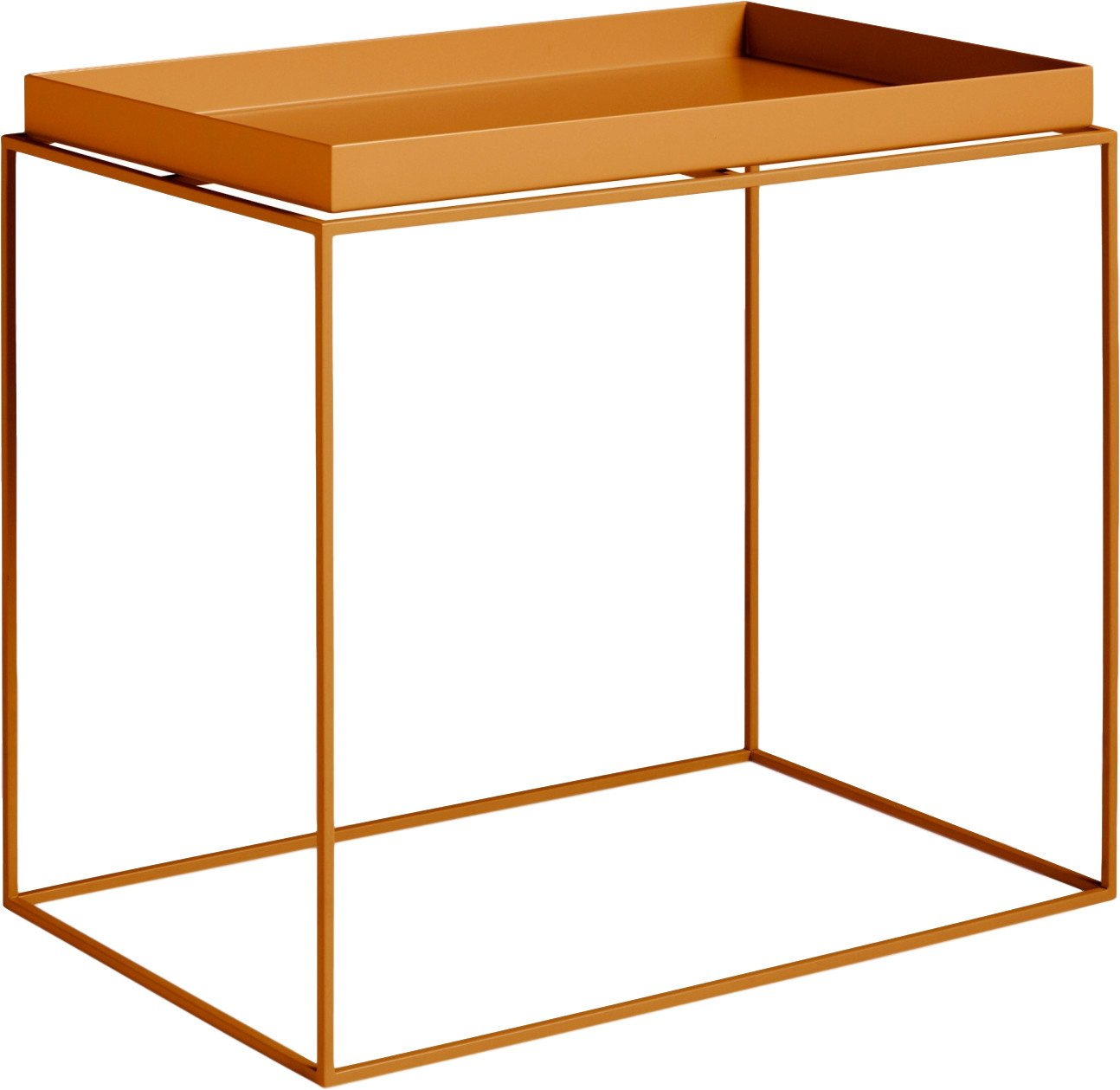 Tray Side Table L Toffee, HAY