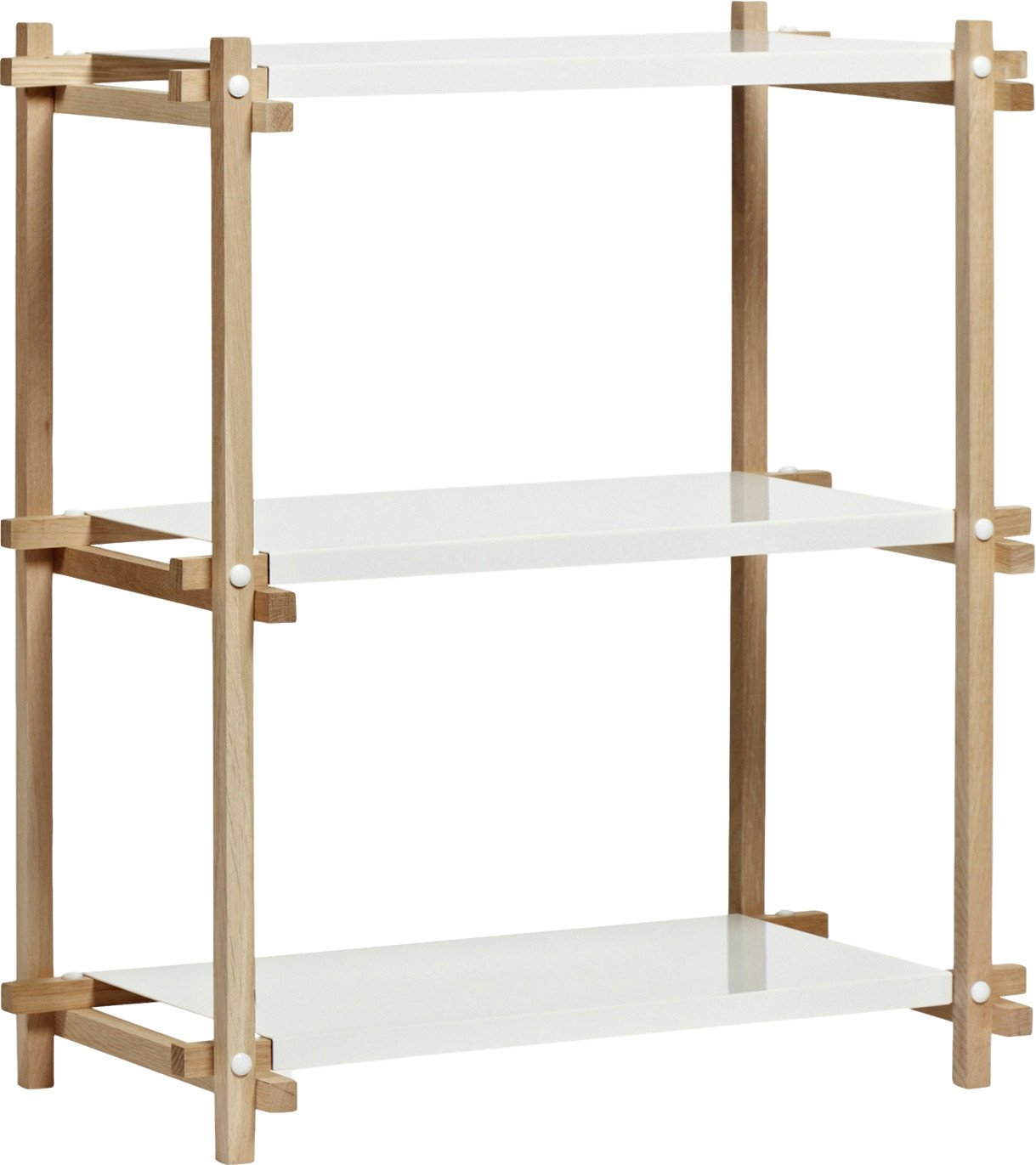 Woody Column Bookcase Low, HAY - 494000 - photo