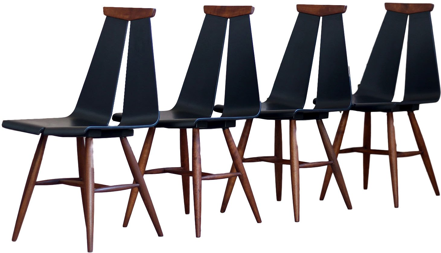 Set of Four Chairs, Finland, 1960s