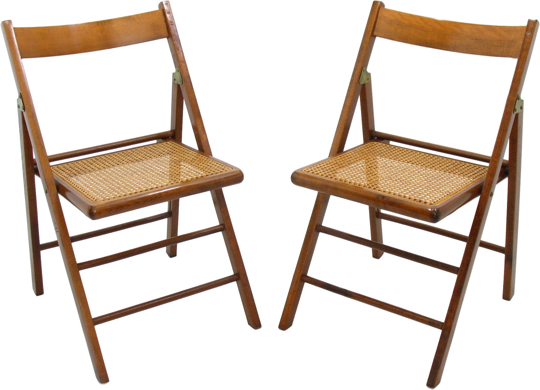 Pair of Foldable Chairs, 1980s
