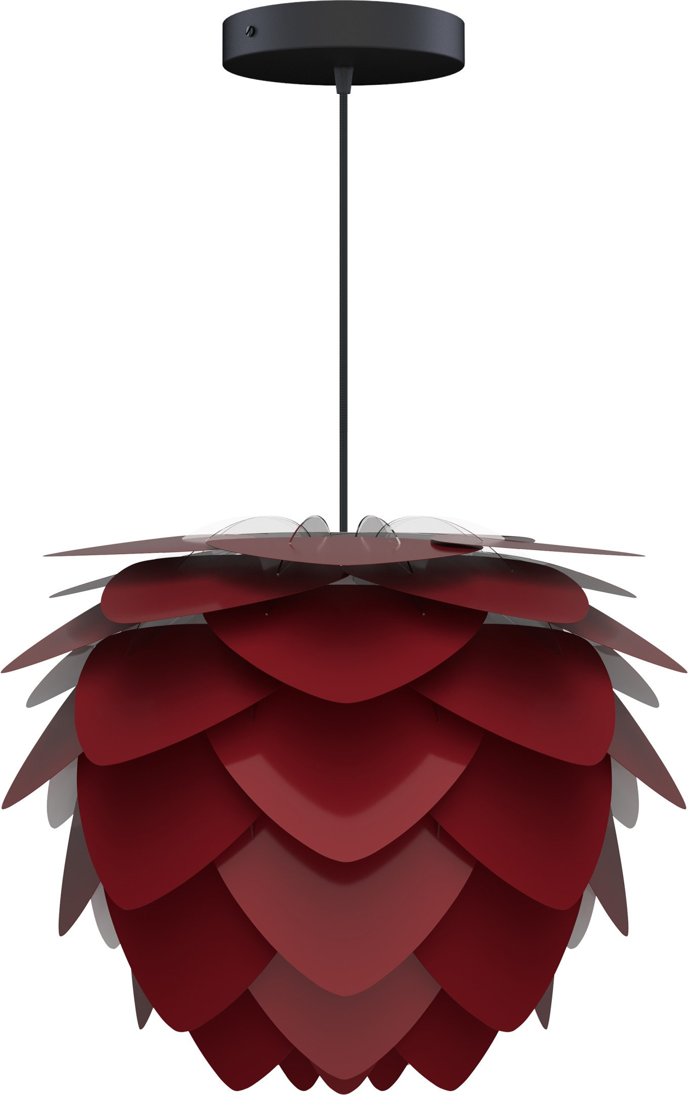 Aluvia Mini Lamp Shade Ruby Red, UMAGE - 495402 - photo