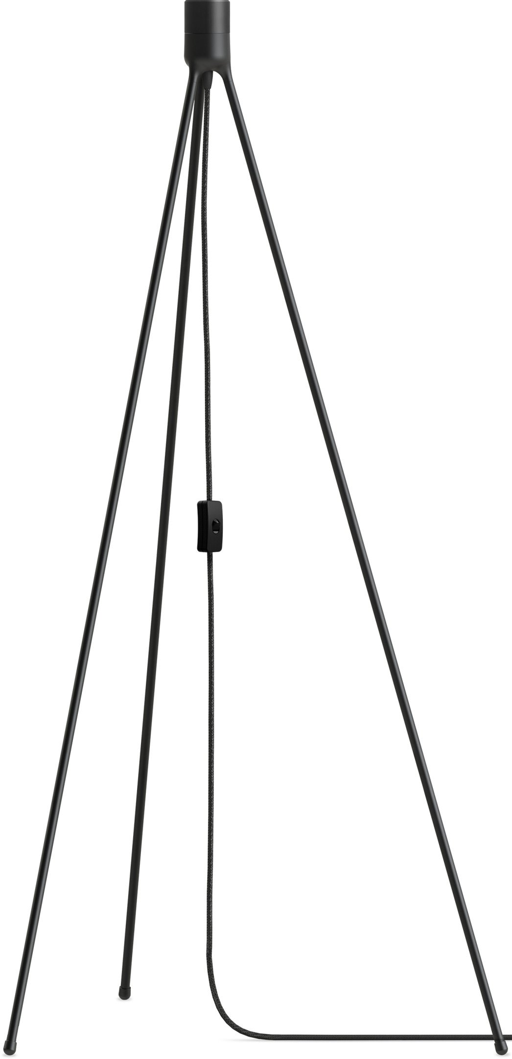 Tripod Floor Lamp Stand Black by S. R. Christensen for UMAGE