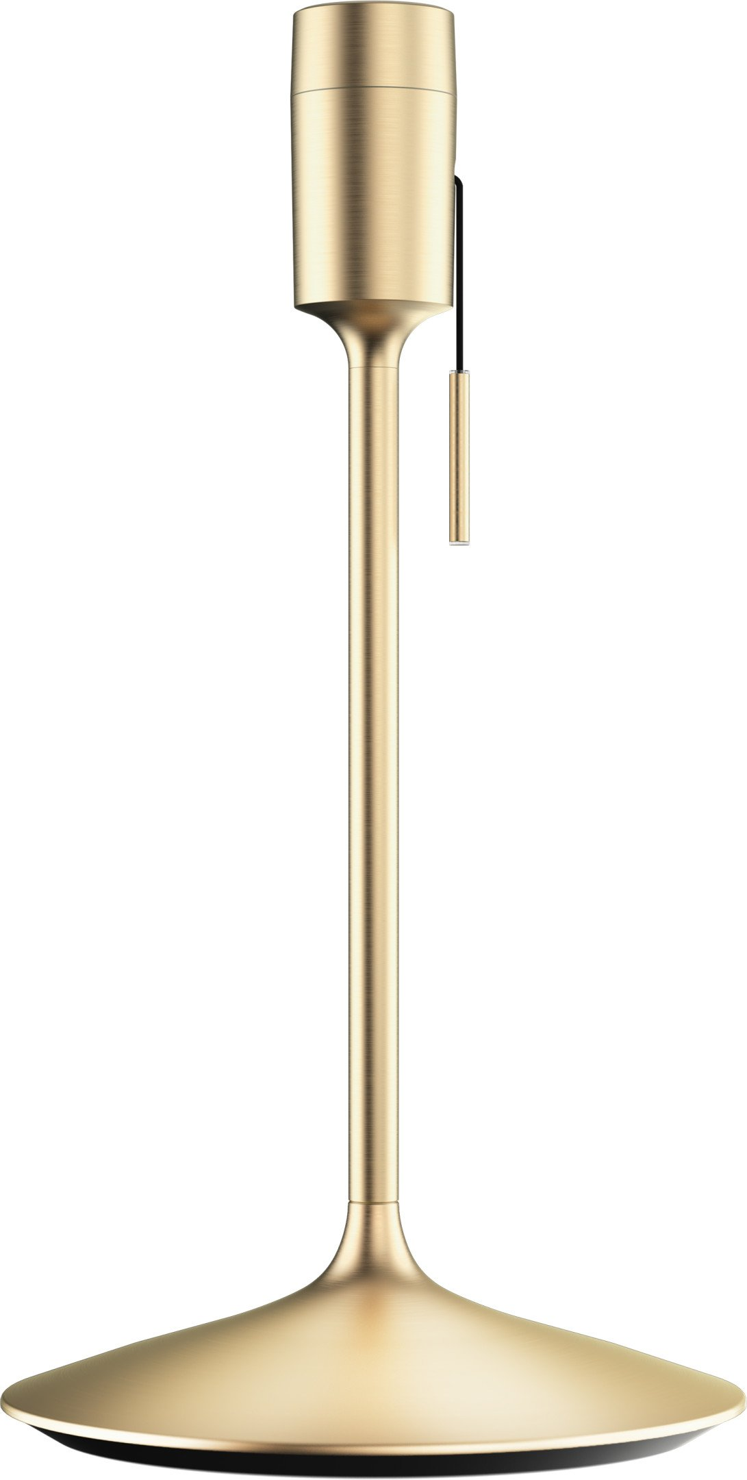 Champagne Table Lamp Stand Brushed Brass by A. Klem for UMAGE