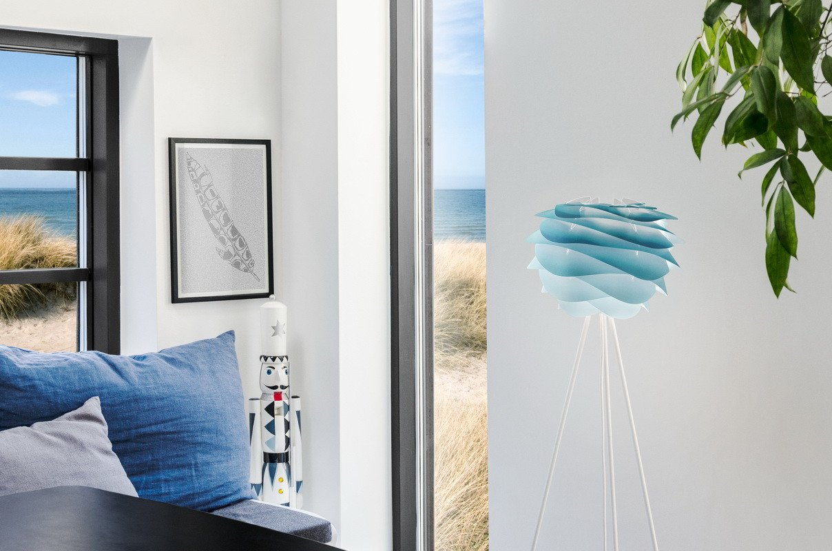 Carmina Mini Lamp Shade Azure by S. R. Christensen & A. Klem for UMAGE - 495821 - photo