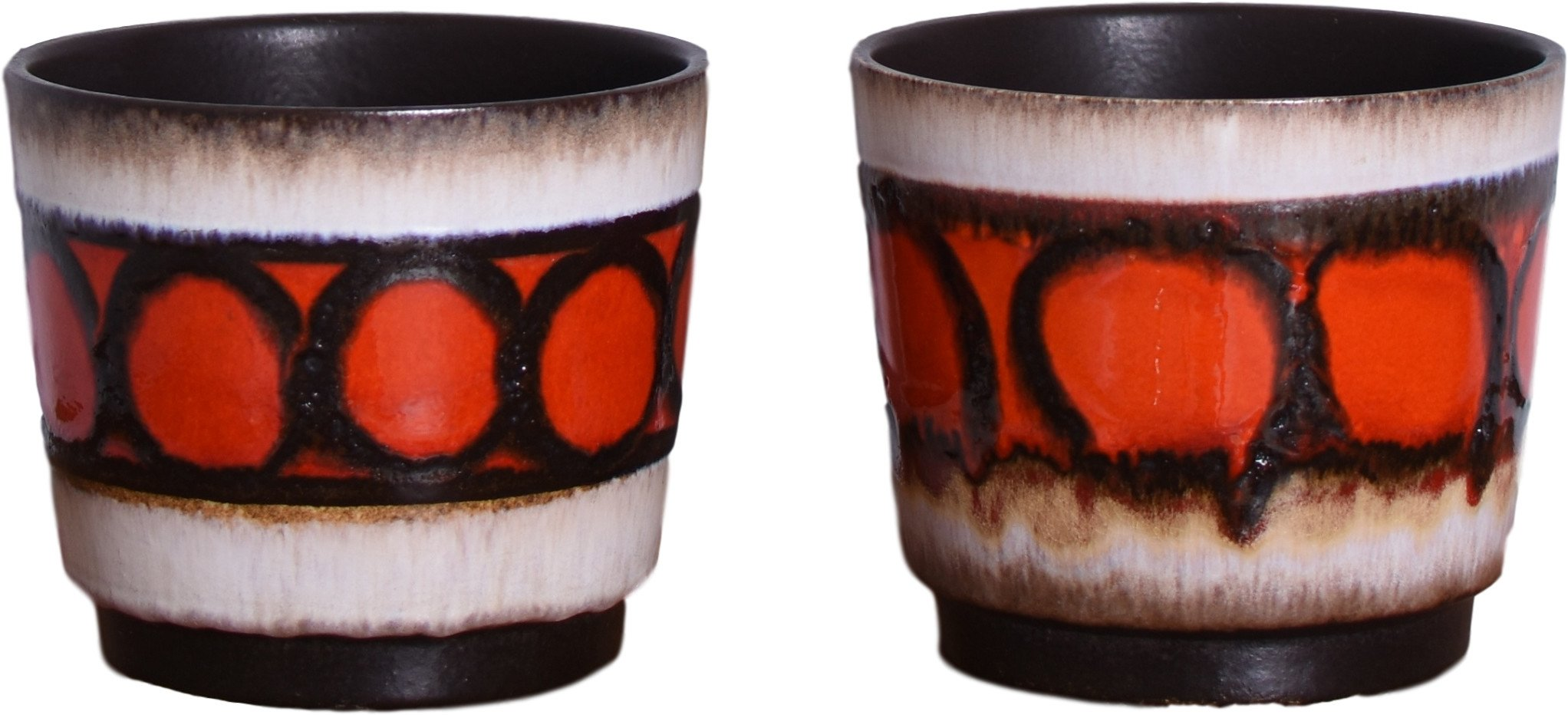 Pair of Flowerpots, West Germany, Germany, 1970s
