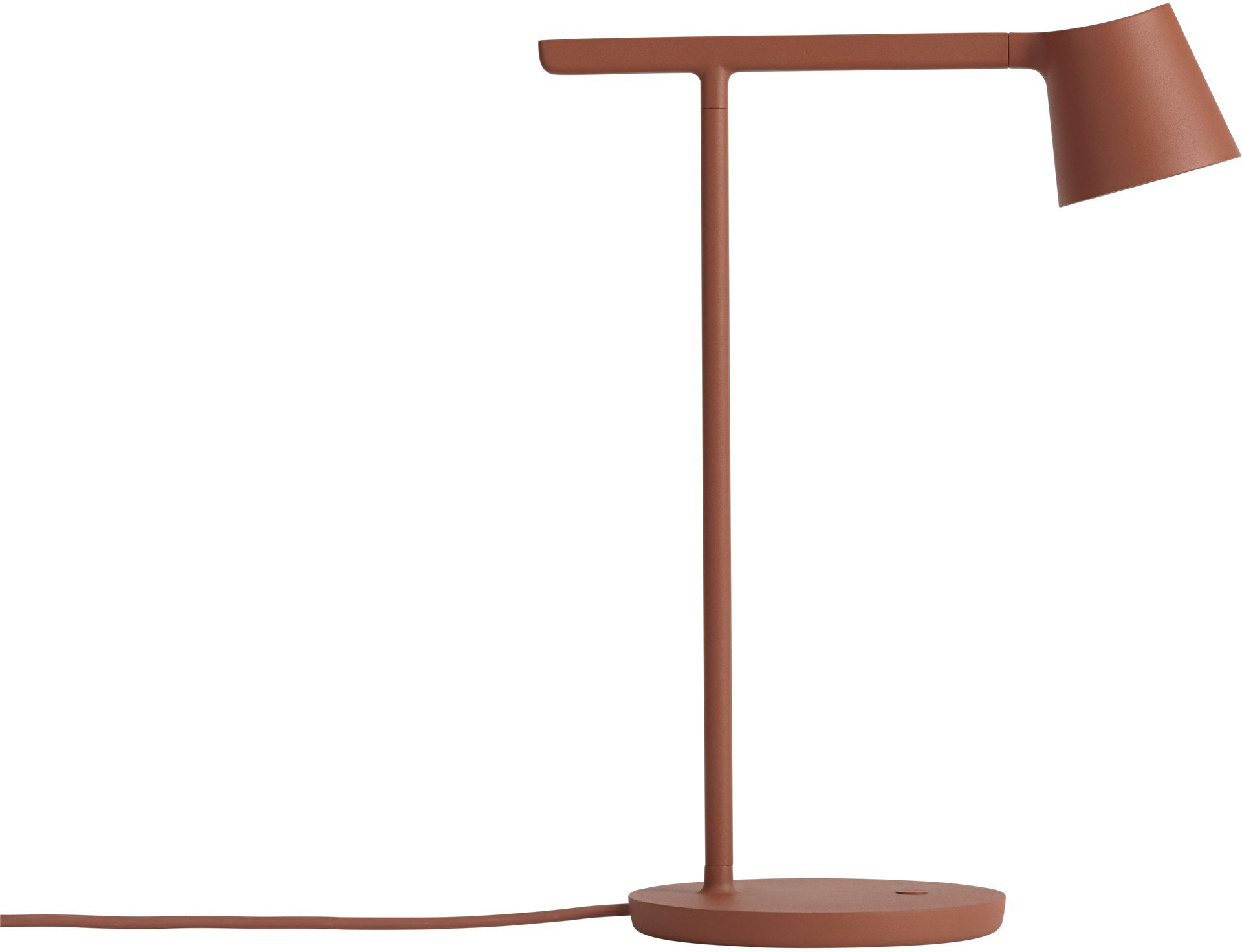 Tip Desk Lamp Copper Brown by J. Fager for Muuto