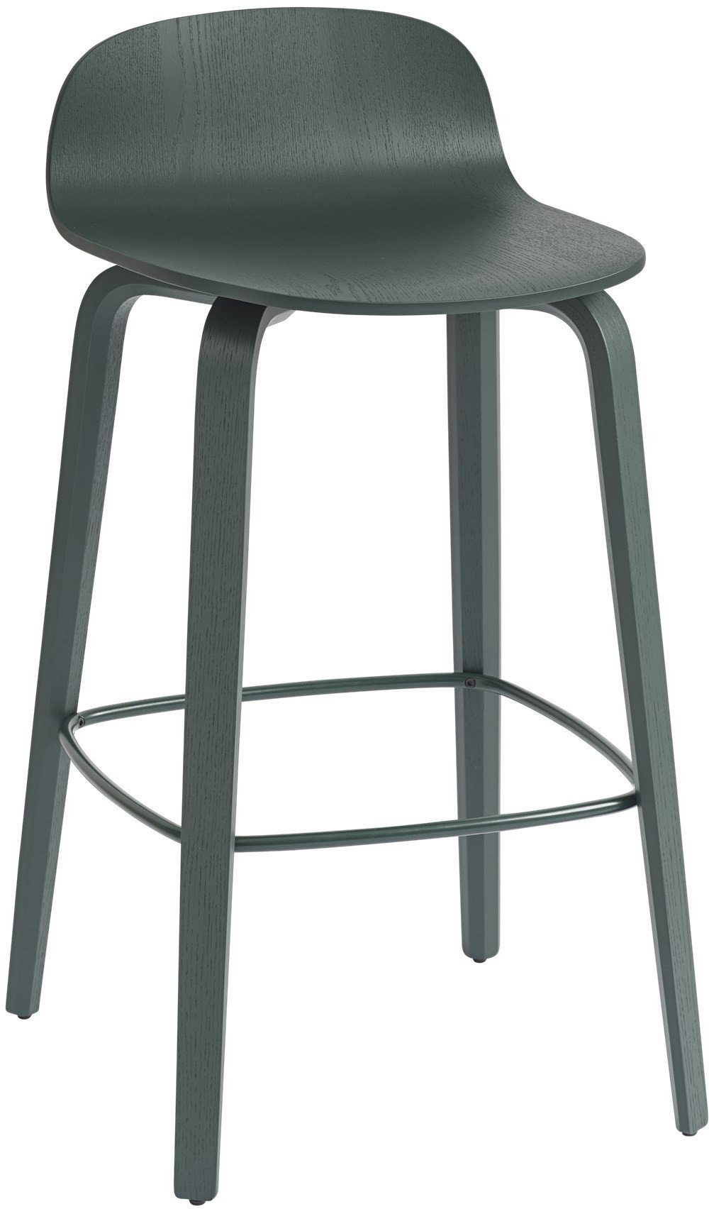 Bar Stool Visu 65 cm Dark Green by M. Tolvanen for Muuto