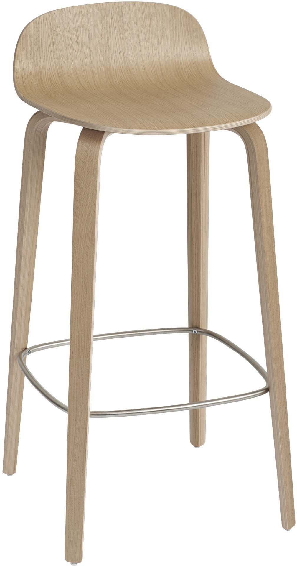 Bar Stool Visu 75 cm Oak by M. Tolvanen for Muuto