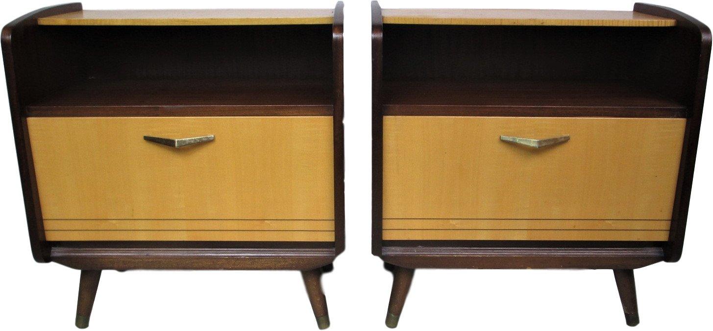 Pair of Nightstands, 1960s