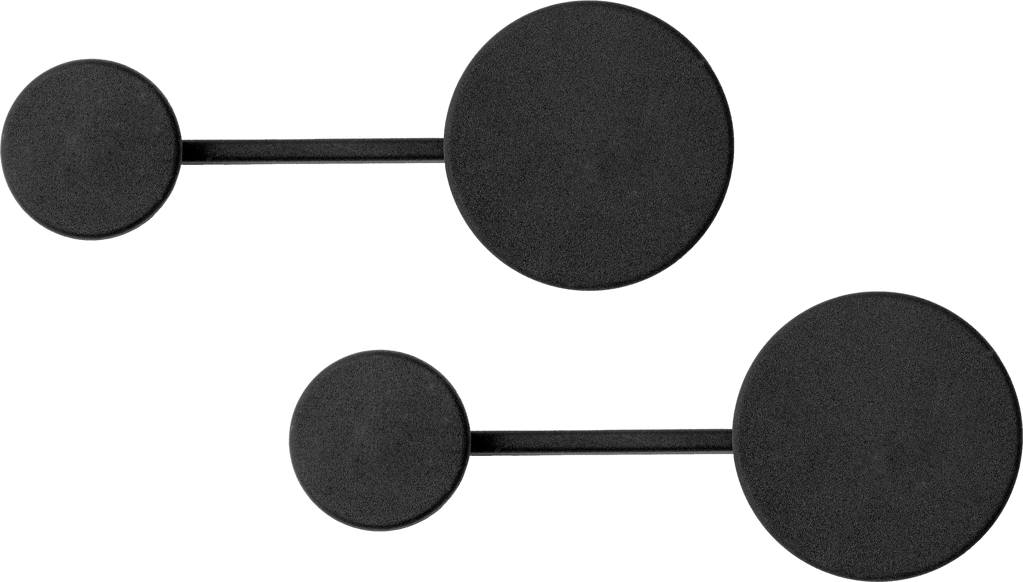 Pair of Afteroom Coat Hangers Black S by Afteroom for Menu