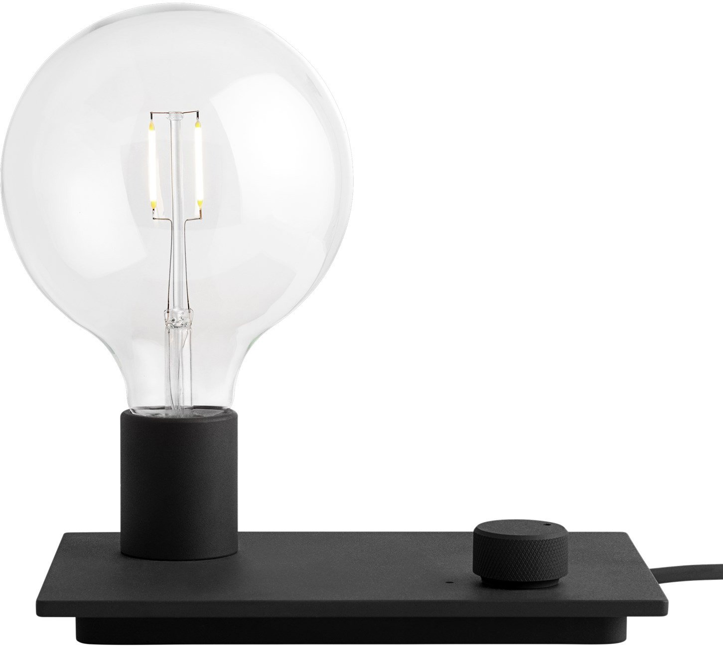 Control Table Lamp Black by TAF Studio for Muuto