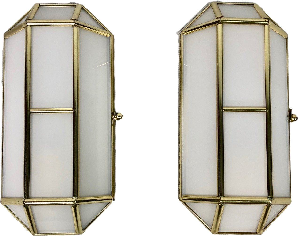 Pair of Wall Lamps, Licht Studio Eisenkeil, Germany, 1970s
