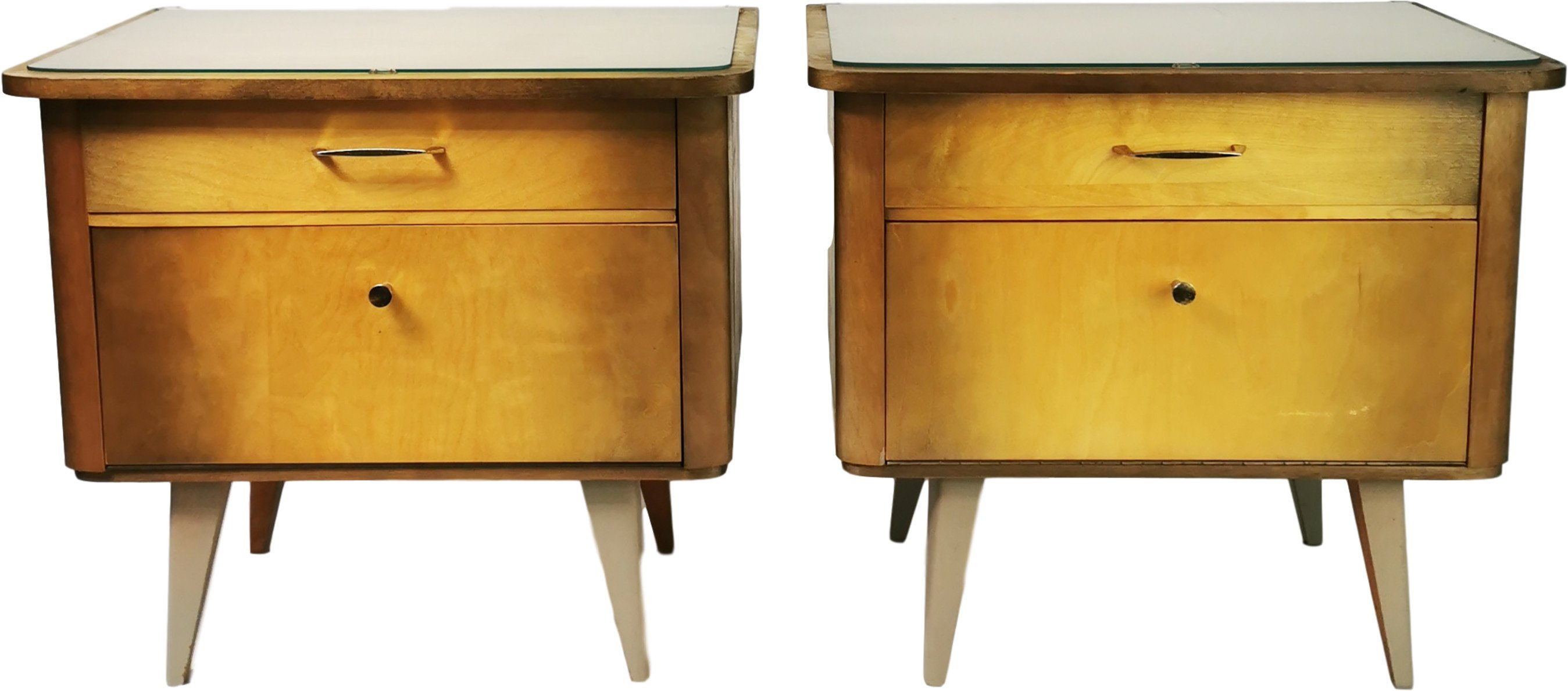Pair of Nightstands, Germany, 1960s