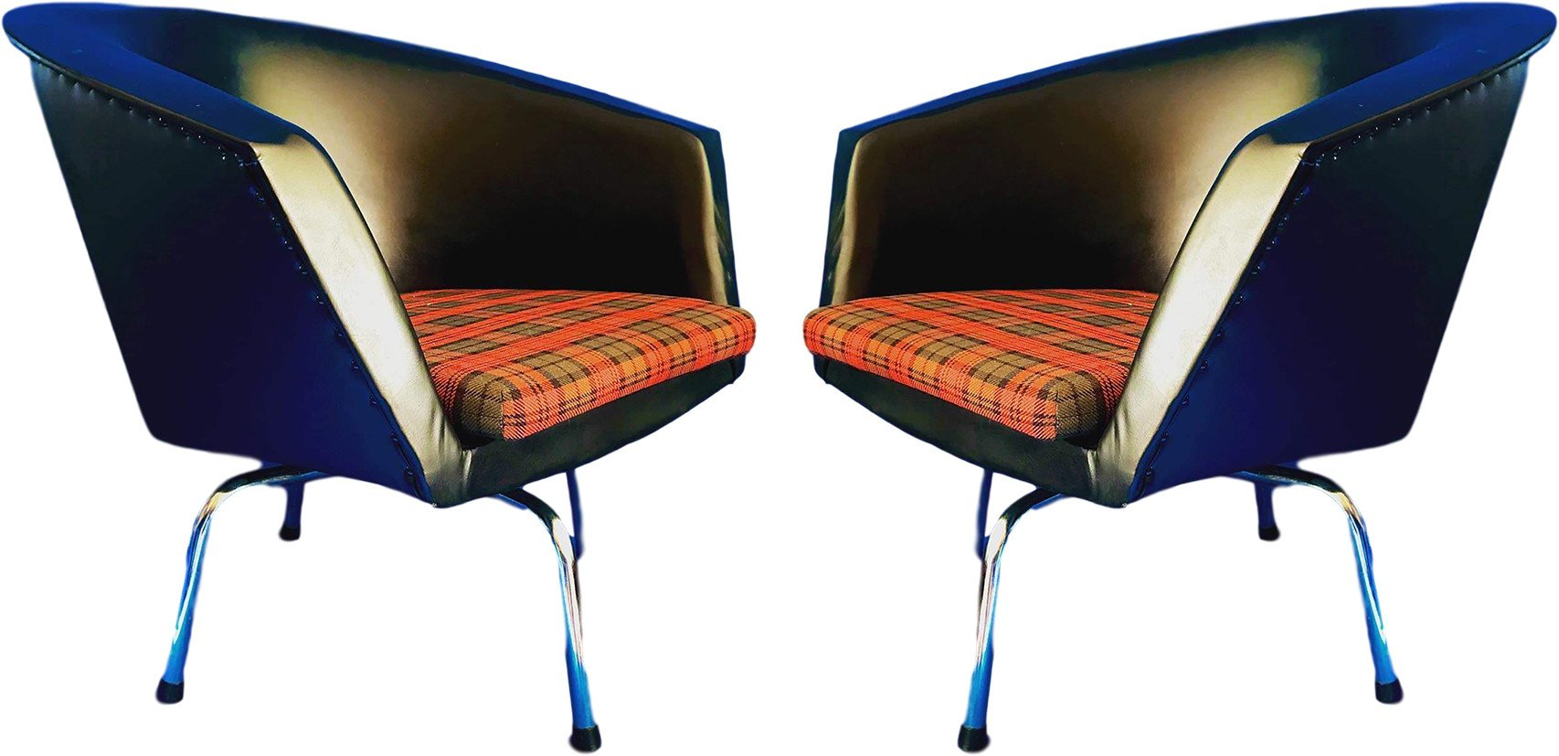 Pair of Armchairs, United States of America, 1980s
