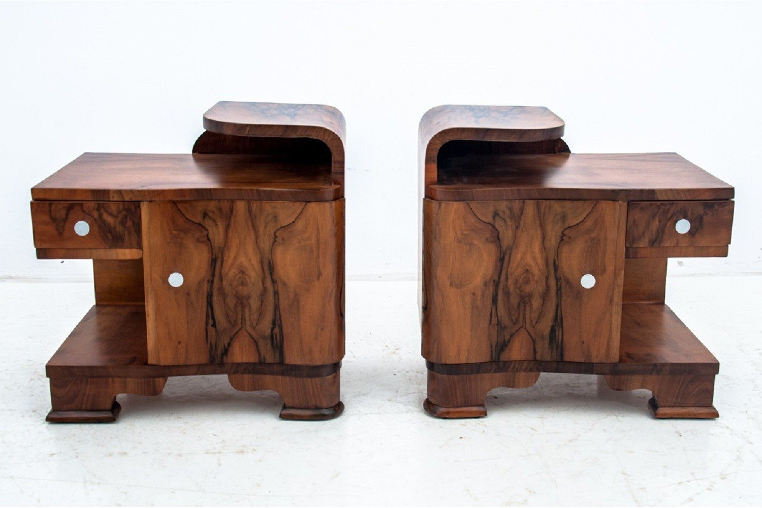 Pair of Bedside tables, Poland, 1960s - 500614 - photo