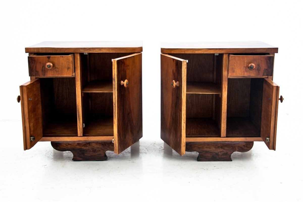 Pair of Bedside Tables, Poland, 1960s - 501025 - photo