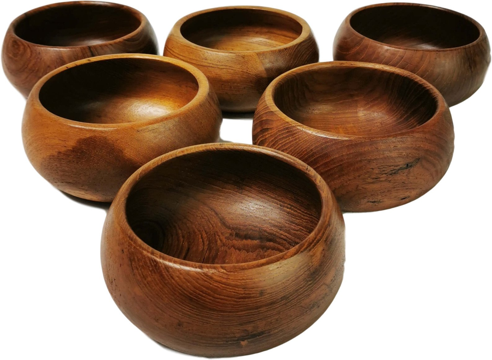 Set of Six Bowls, Norway, 1970s