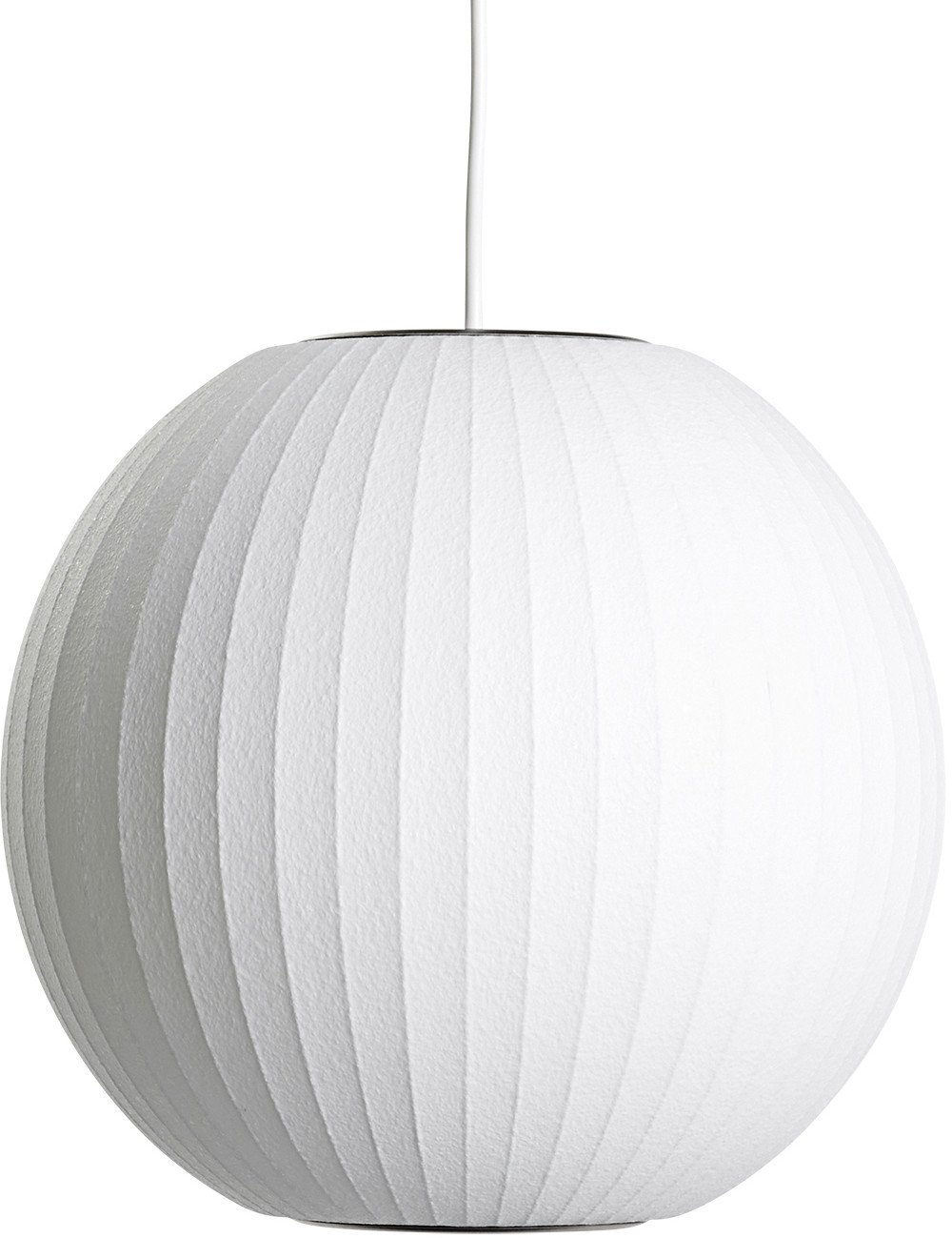 Pendant Lamp Nelson Lantern S White by G. Nelson for HAY - 501854 - photo