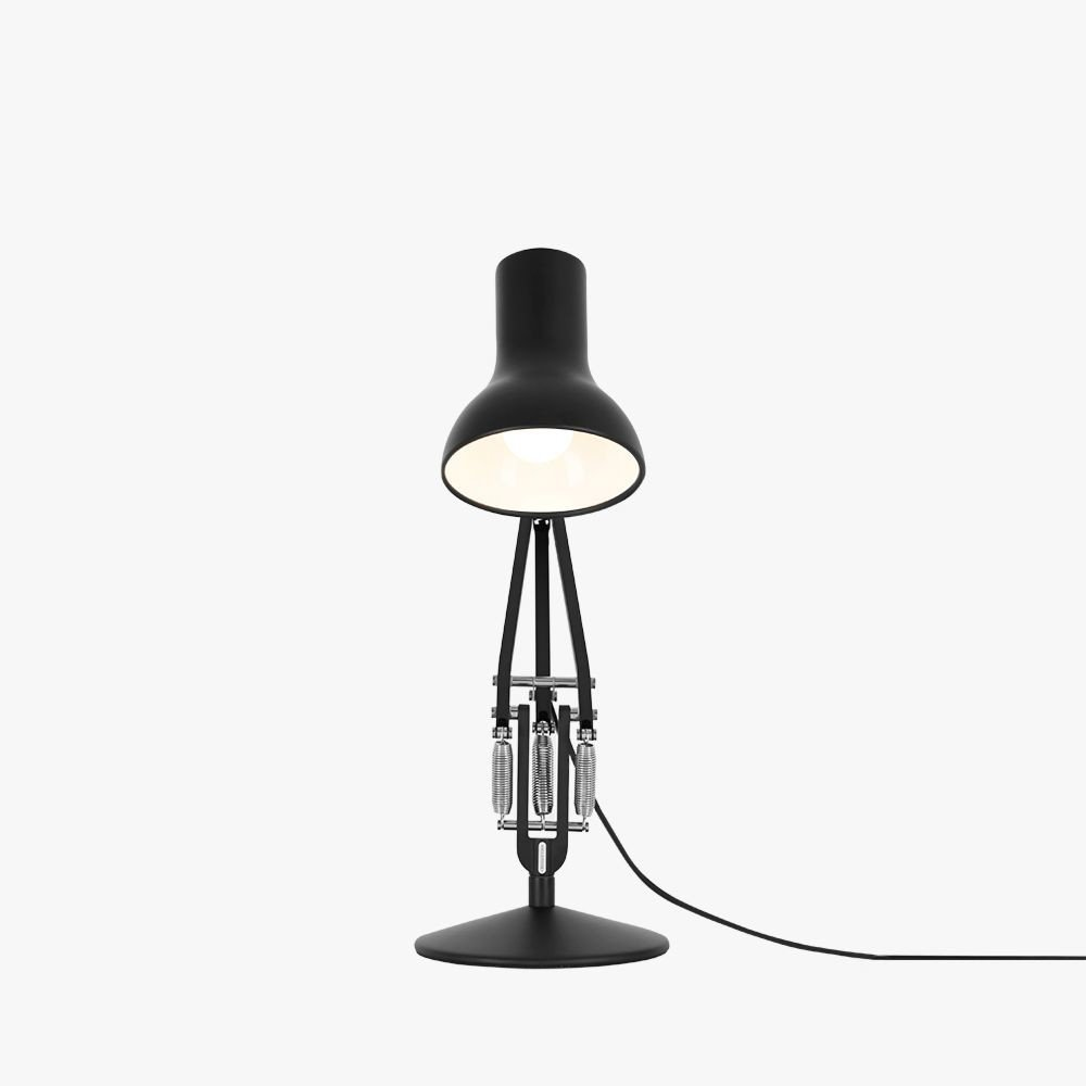 Type 75 Mini Desk Lamp Jet Black by K. Grange for Anglepoise - 502939 - photo
