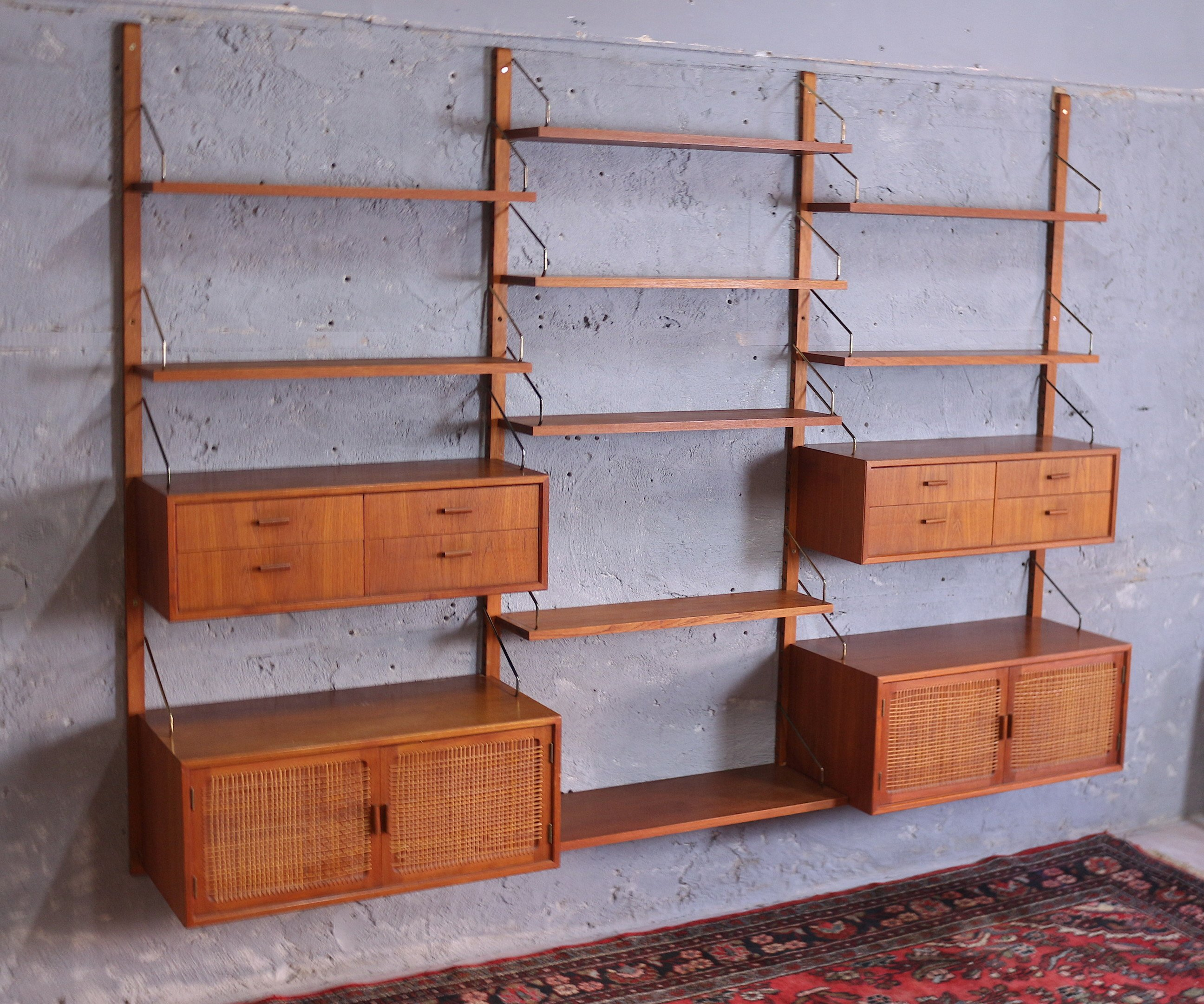 Wall Unit, Gustav Bahus, Norway, 1960s - 503350 - photo