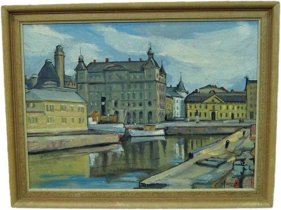 Art by H. Larsson, Sweden, 1940s - 503812 - photo