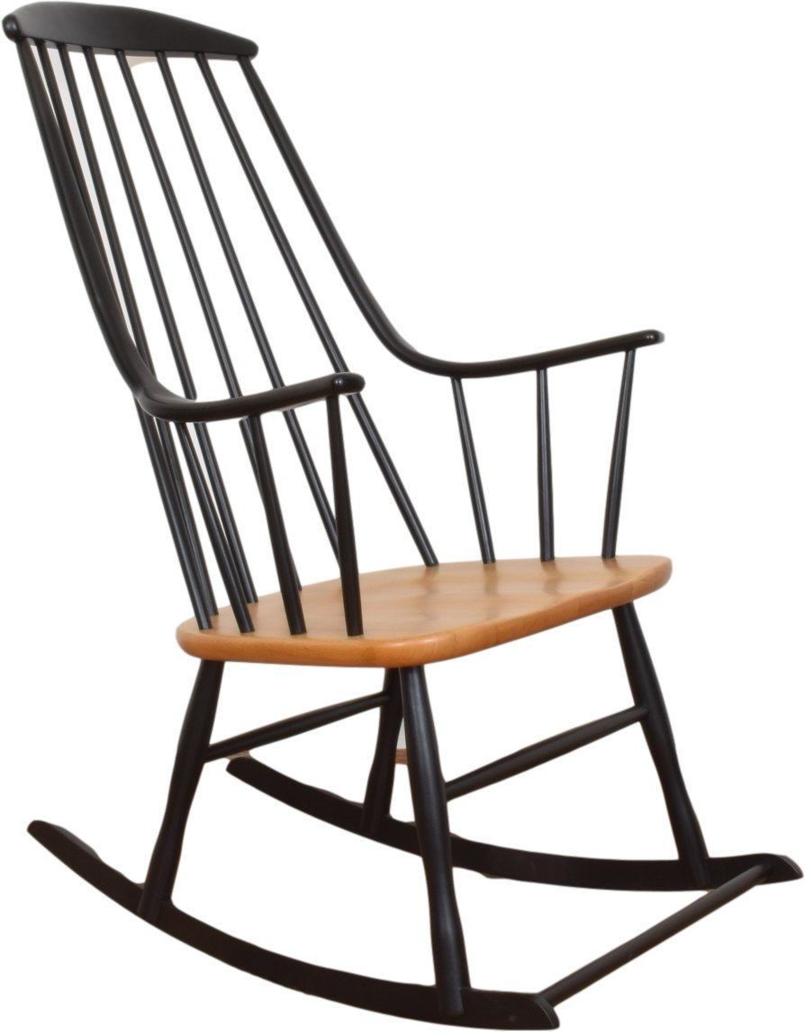 Rocking Chair by L. Larsson, Nesto, Sweden, 1960s - 503821 - photo