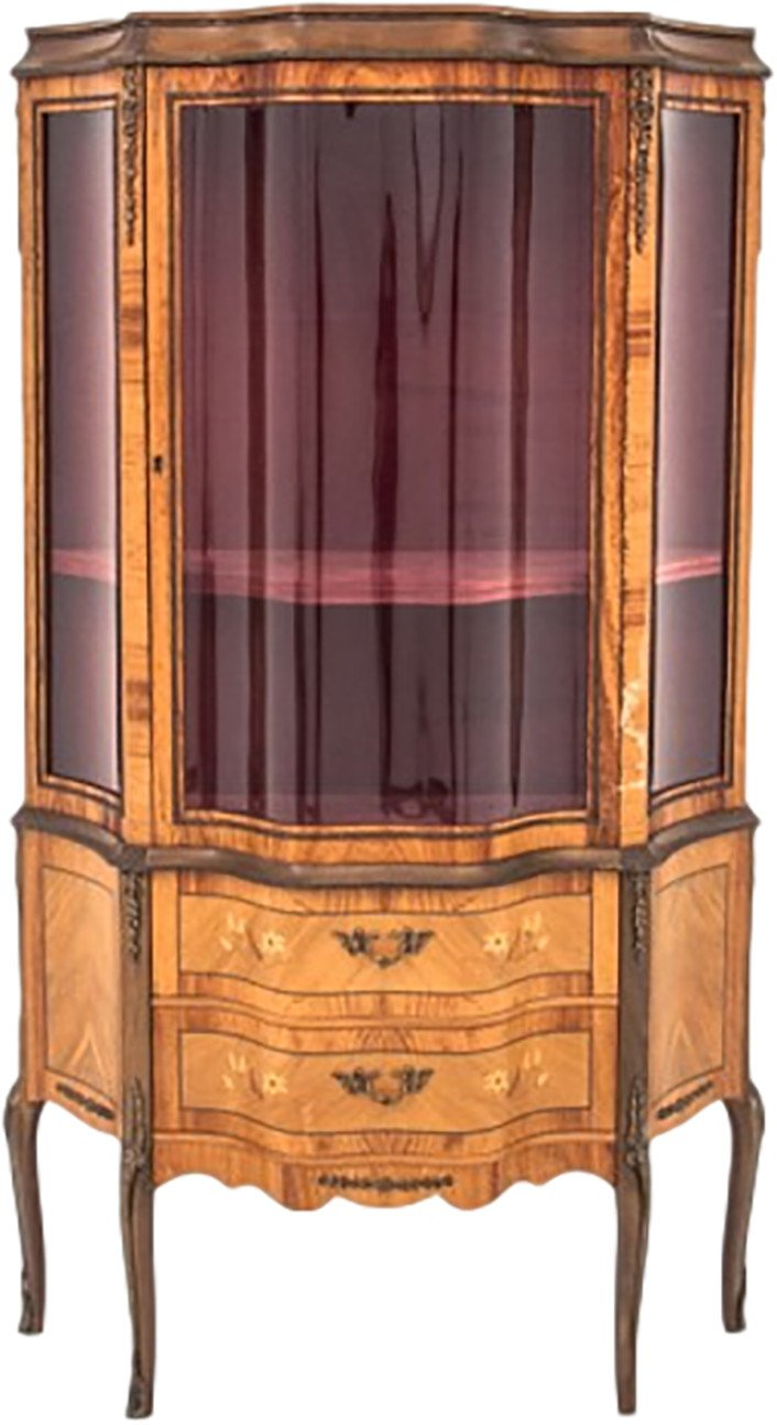 Vitrine, France, early 20th C.