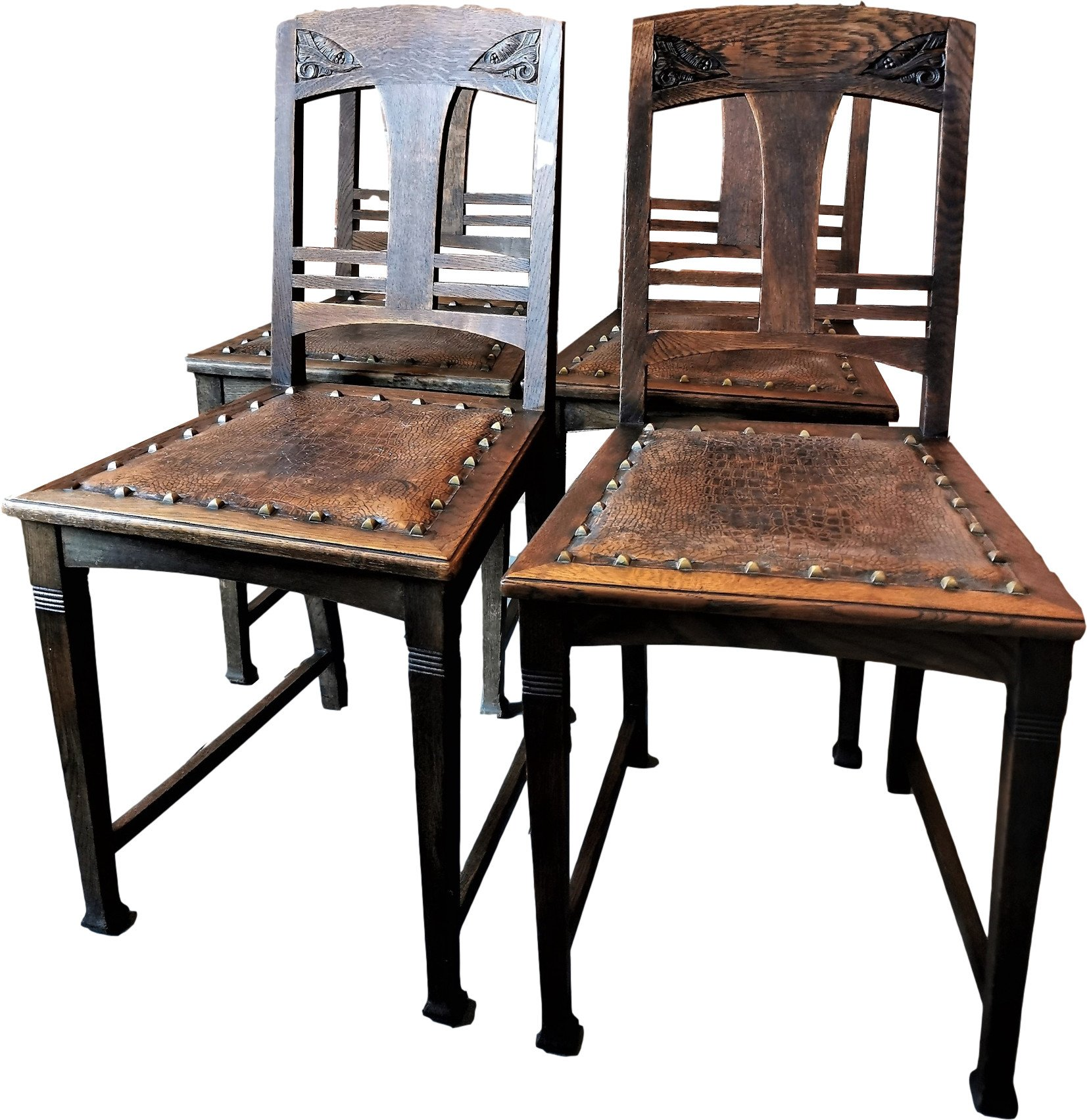 Set of Four Chairs, early 20th C. - 503989 - photo