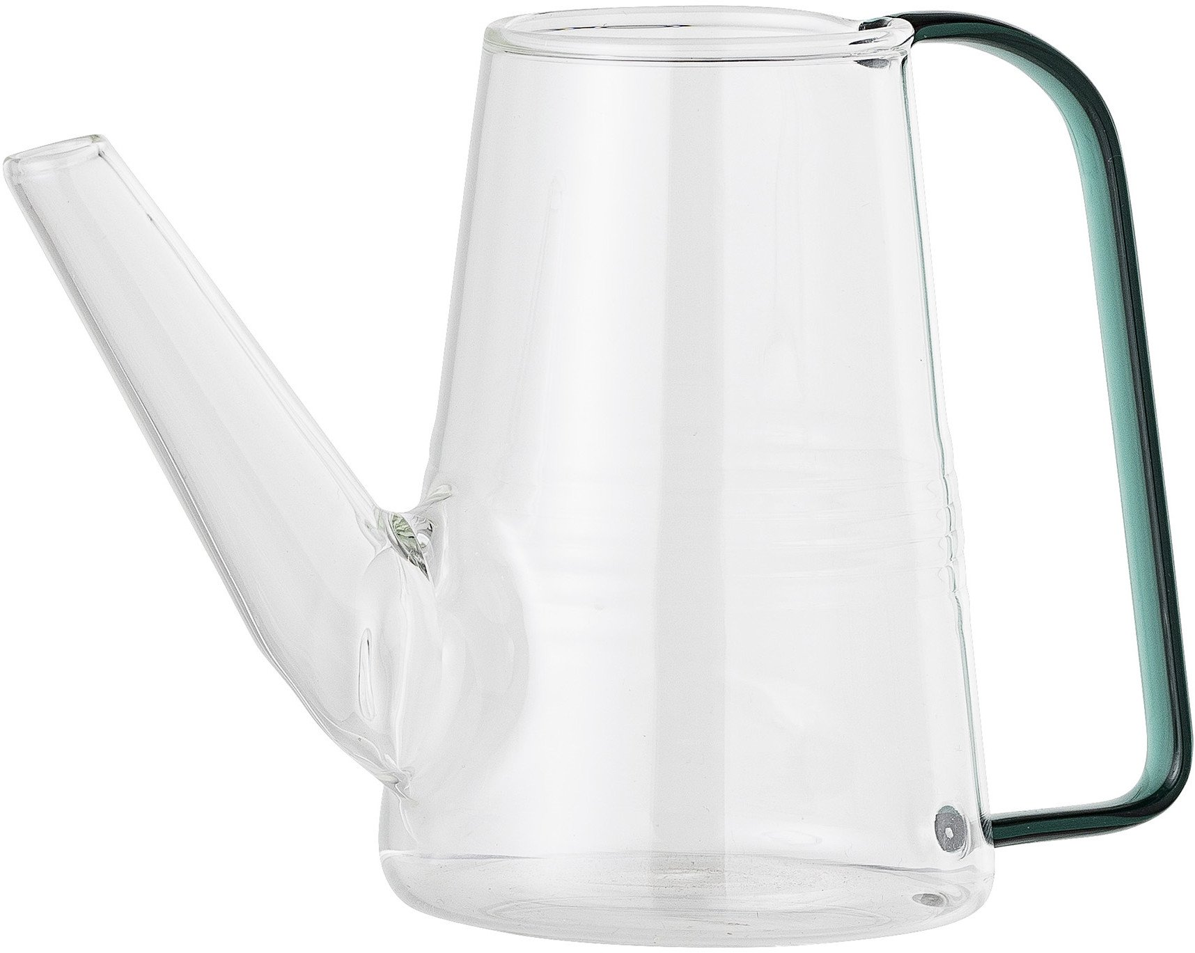 Clear Glass Watering Can Vase, Bloomingville