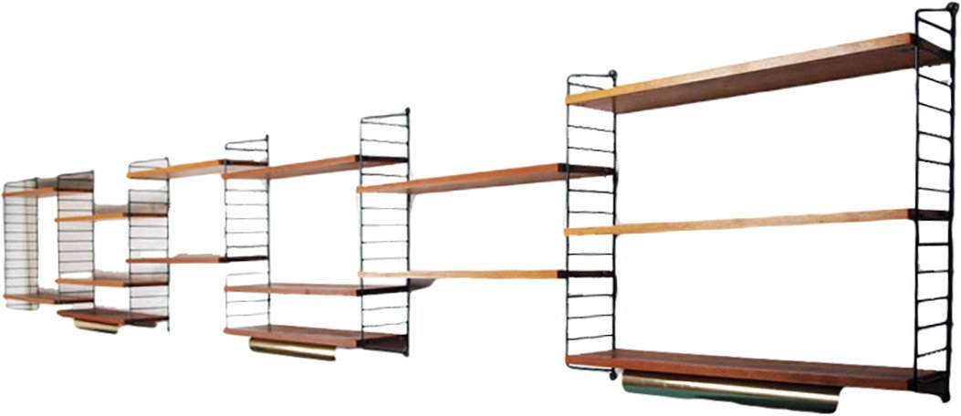 Shelf by Strinning for String®, Sweden, 1960s