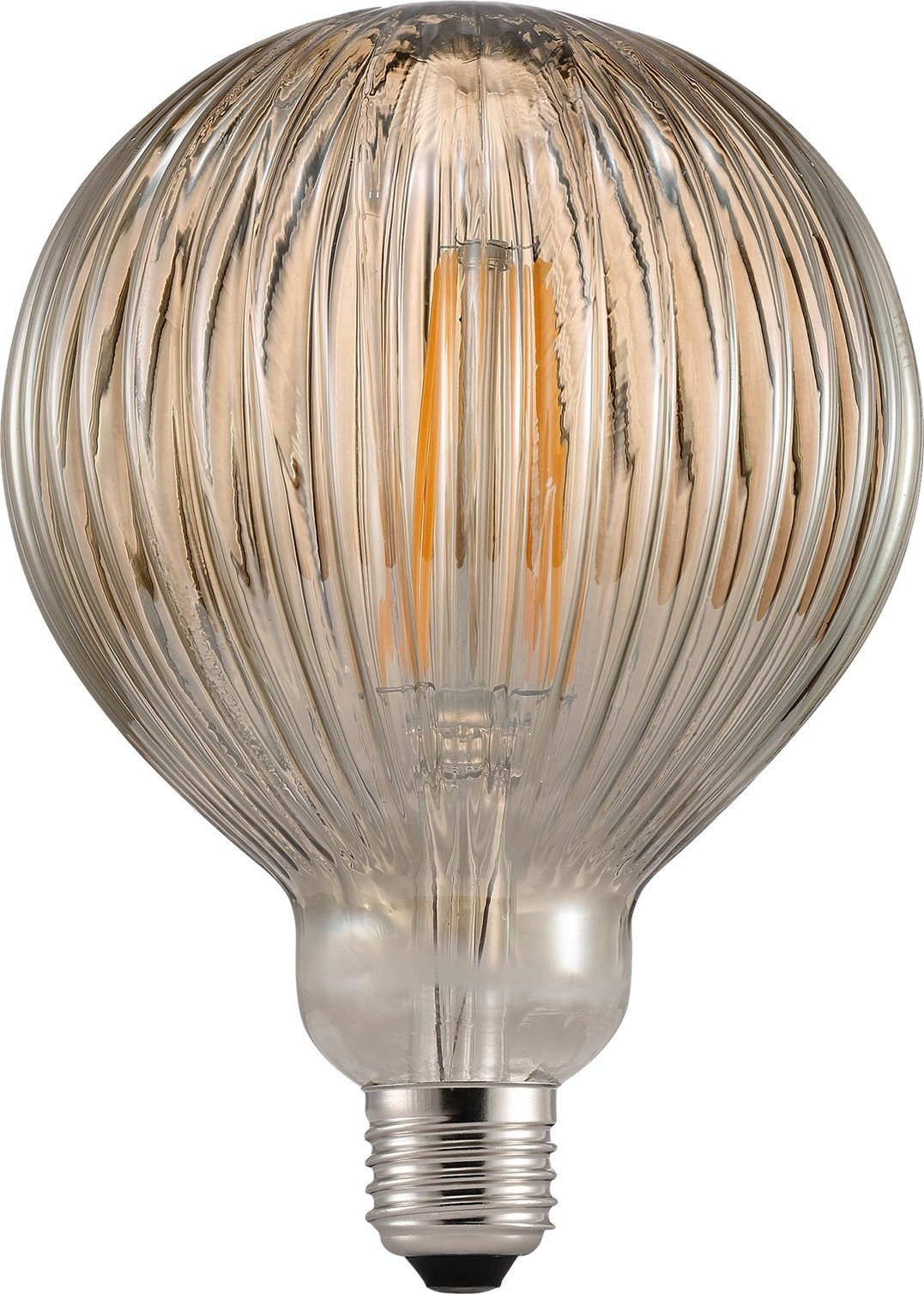 E27 Avra Stripes 2W Smoke Light bulbs, Nordlux