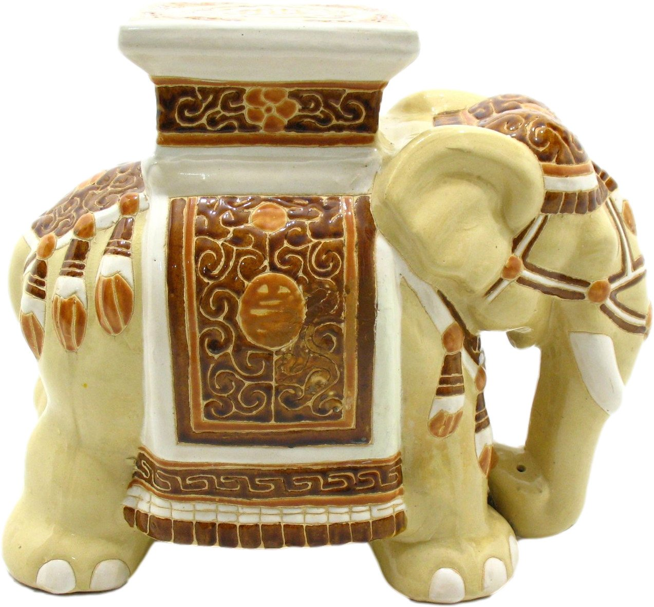 Ceramic Figurine of Elephant, 1980s