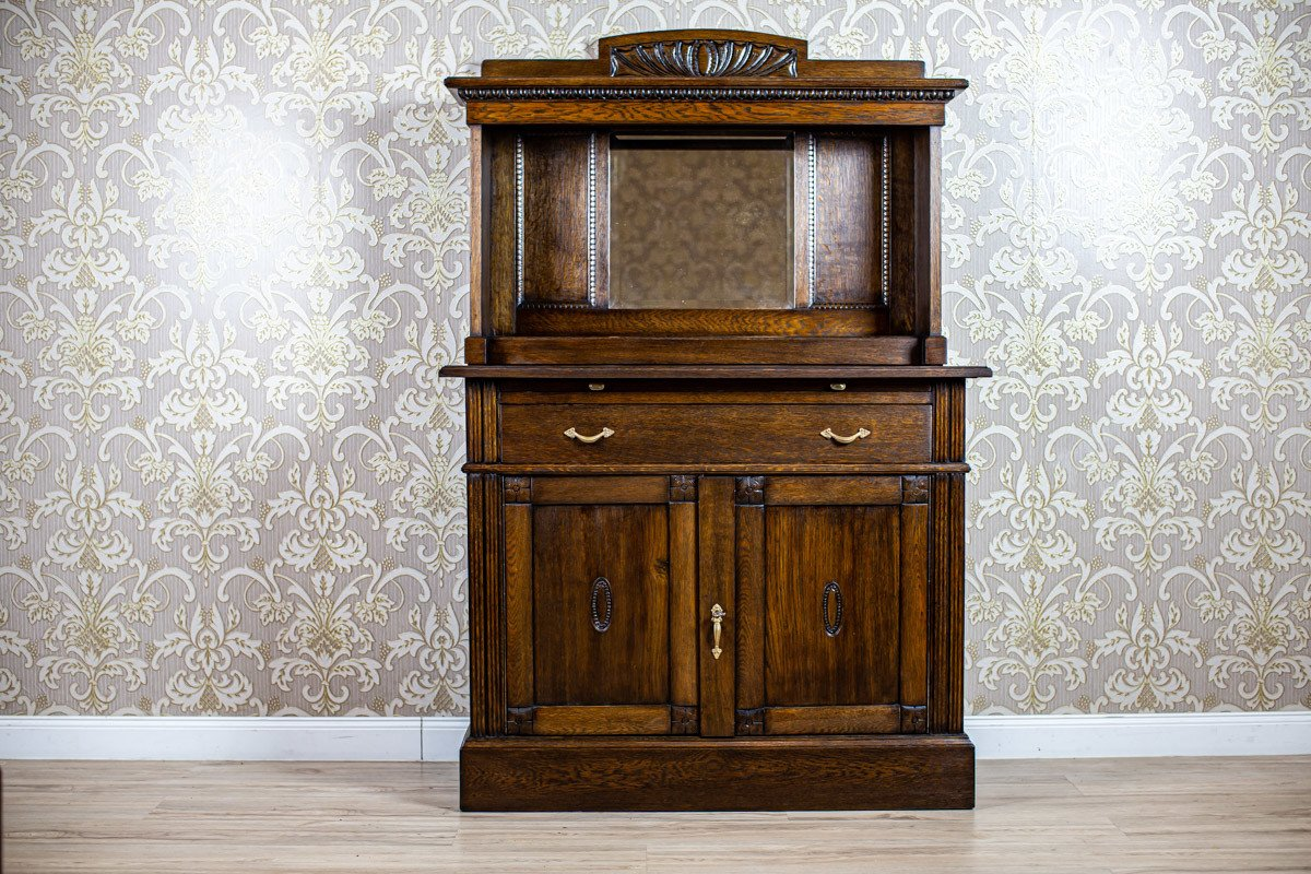 Oak Highboard, 1930s - 510211 - photo