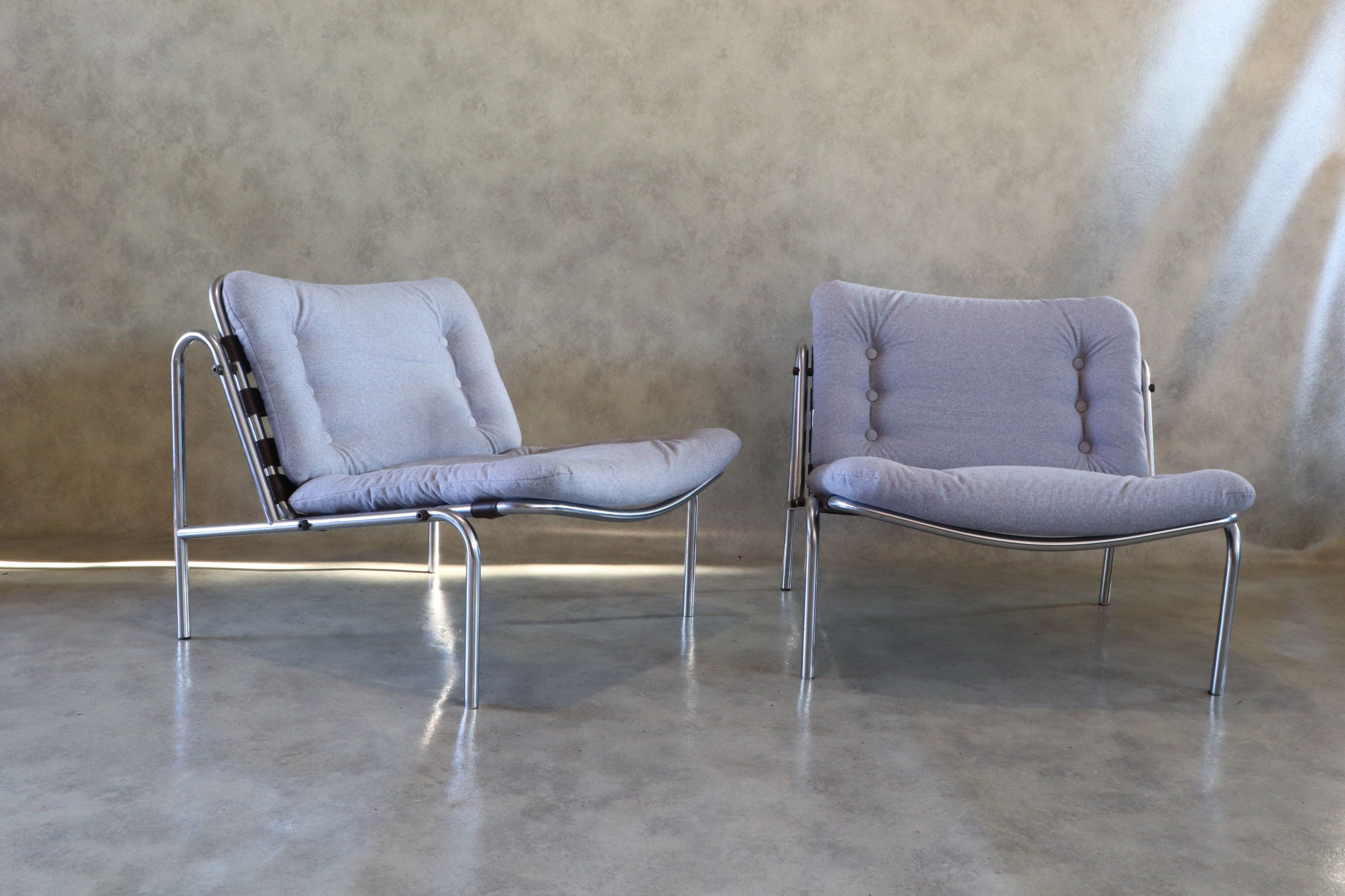 Pair of  Kyoto Armchairs by M. Visser for t Spectrum, Netherlands, 1960s - 511860 - photo