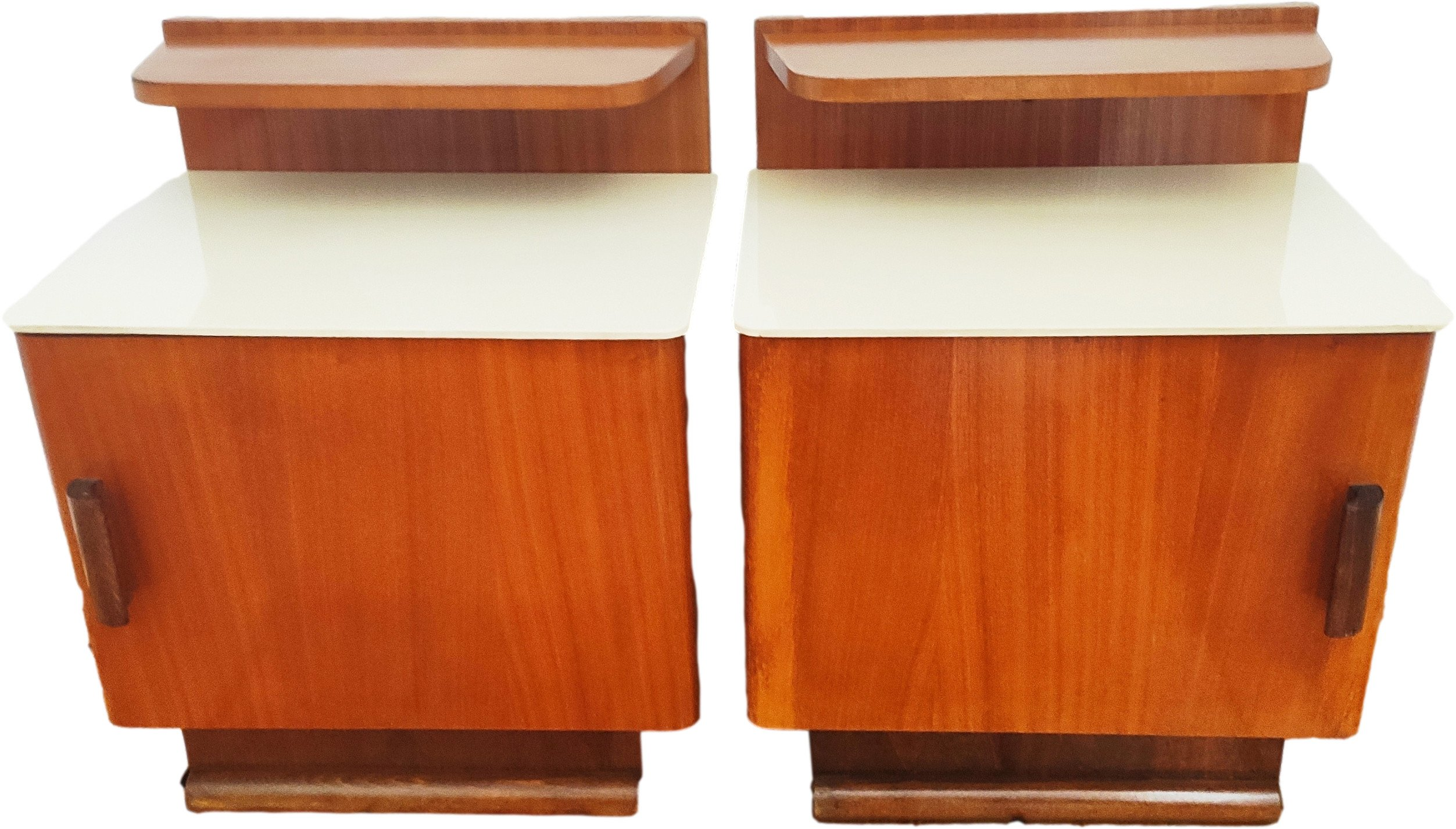 Pair of Nightstands by J. Halabala for UP Závody, Czechoslovakia, 1950s