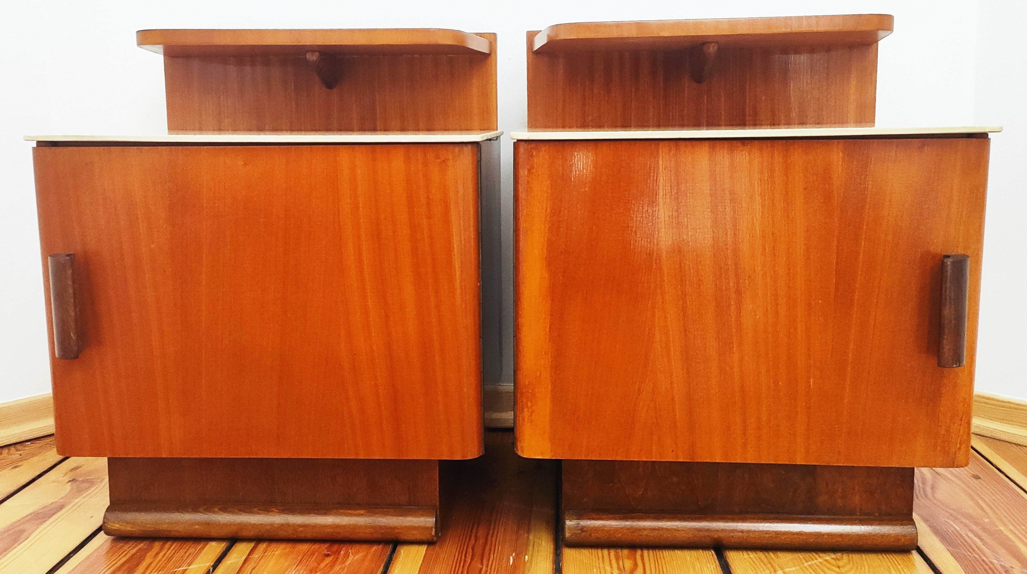 Pair of Nightstands by J. Halabala for UP Závody, Czechoslovakia, 1950s - 516724 - photo