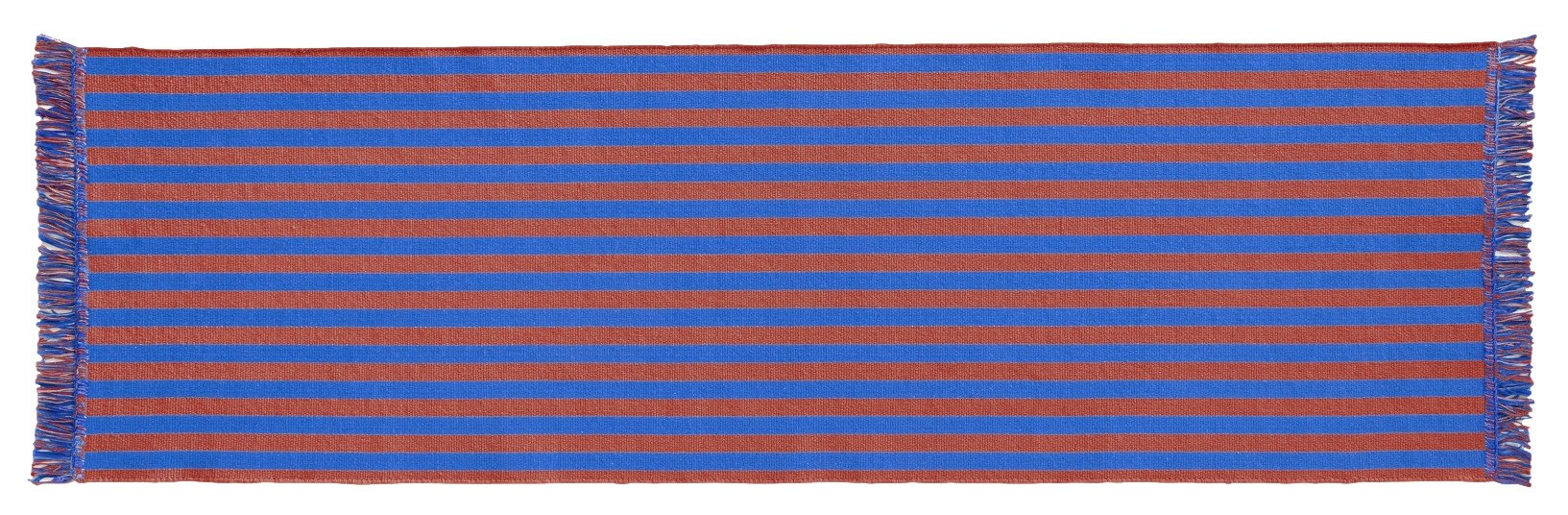 Dywan Stripes and Stripes 60x200 cm brązowo-niebieski, HAY