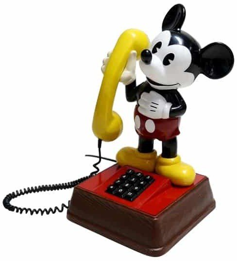 Telefon Mickey Mouse, USA, 1970 r.