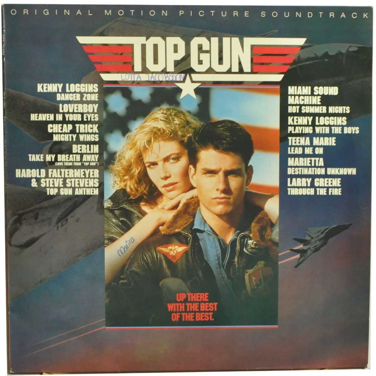 Płyta winylowa, Top Gun Original Motion Picture Soundtrack
